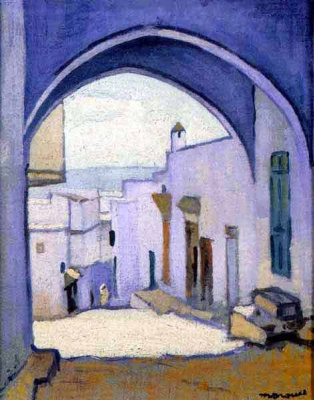 Albert Marquet. The citadel in Tangier
