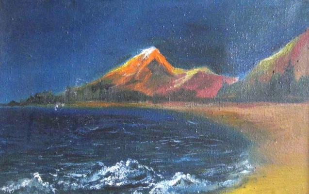 Pavel Markovich Osherov. Mountains and sea