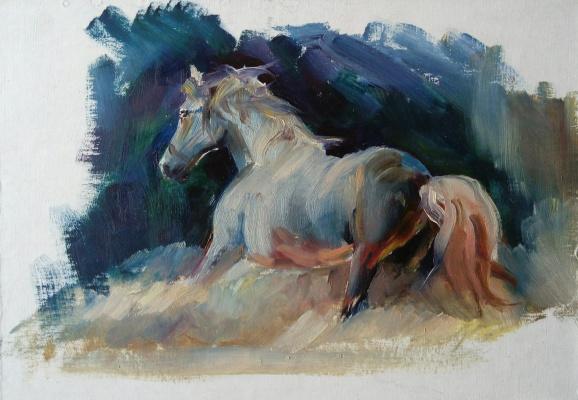 Дулат Абдульдинов. Лошадь