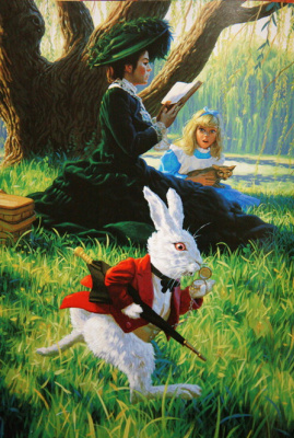 Greg Hildebrandt. The first meeting with a rabbit
