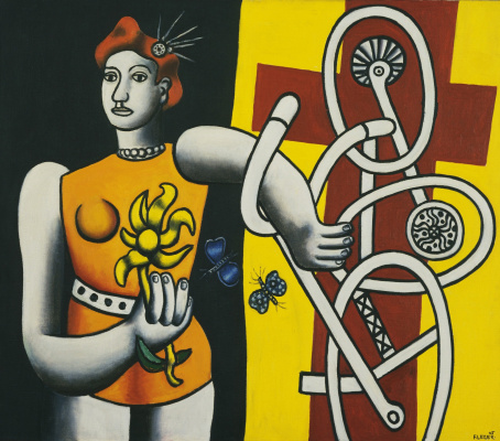 Fernand Leger. Big Julie