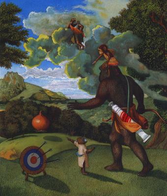 Энтони Браун. Пейзаж с луком
