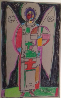 Igor Vasilyevich Kislitsyn. Angel of rome