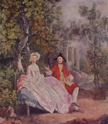 Thomas Gainsborough. Conversation in the Park