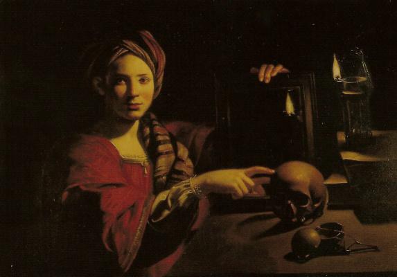 Trophim Bigo. Allegory of vanity