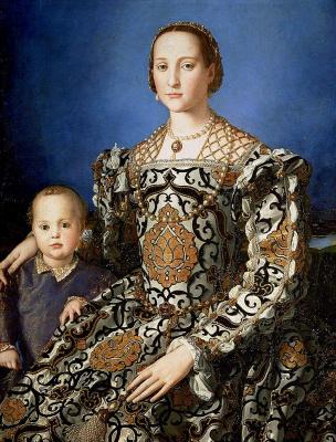 Eleonora di Toledo and Ferdinando de ' Medici