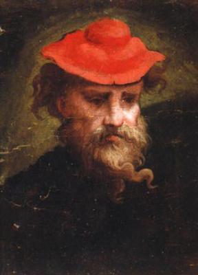 Francesco Parmigianino. Self-portrait