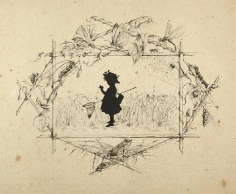Елизавета Меркурьевна Бём (Эндаурова). Жанровых сцен с детьми и животными. 1875