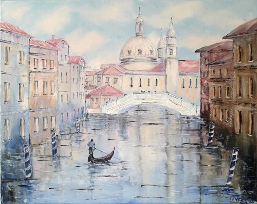 Сергей Владиславович Пичугин. Прогулка по каналам Венеции