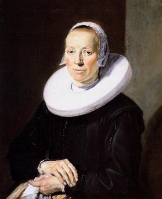 Frans Hals. Female portrait