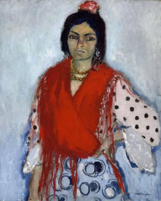 Kees Van Dongen. Gypsy