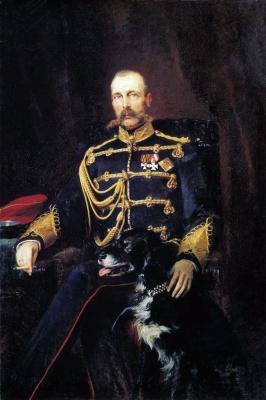 Константин Егорович Маковский. Портрет Александра II