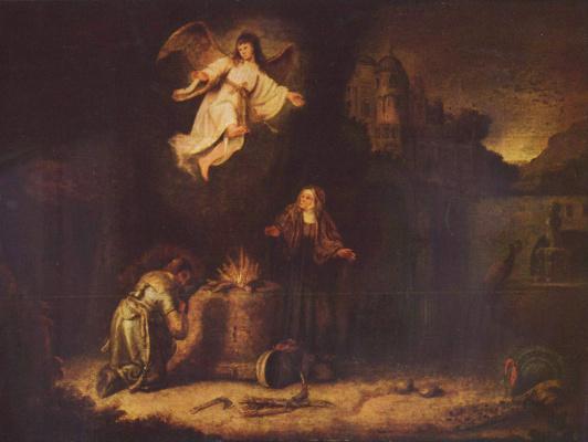 Gowert Flink. The Sacrifice Of Manoah;