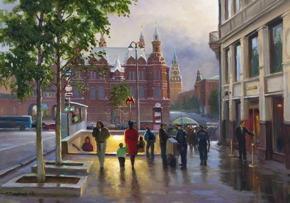 Сергей Николаевич Соловьёв. После дождя