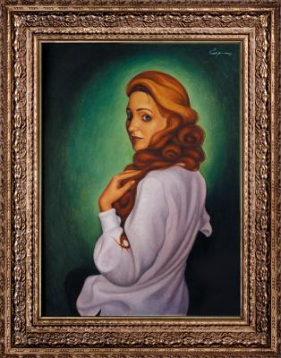 Nikolai Nikolayevich Sednin. Portrait Of Svetlana Leonova