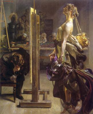 Jacek Malchevsky. Inspiration for the artist