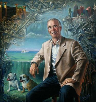 Mikhail Khokhlachov. Portrait Of Gary Of Prima
