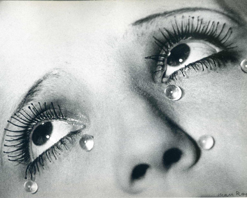 Man Ray. Glass tears