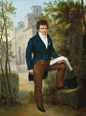 Франсуа-Эдуар Пико. Портрет Николая