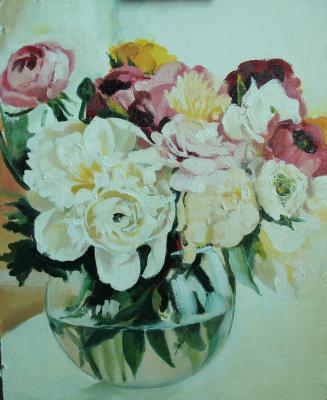 Olga Shatskaya. Morning bouquet