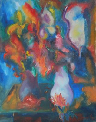 Cherepania Pavlovich Vladimir 1965-1996. Flowers
