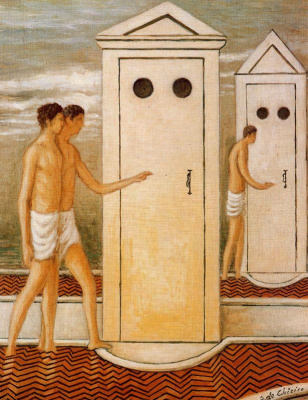 Giorgio de Chirico. A door