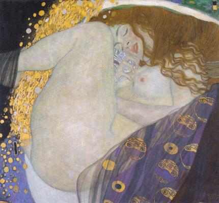 Gustav Klimt. Danae