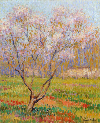 Henri Marten. Trees in bloom