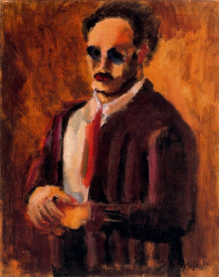 Rothko Mark. Self-portrait