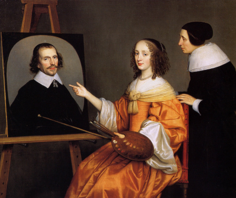 Gerard van Honthorst. Margareta