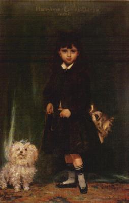 Каролюс-Дюран. Дочь художника