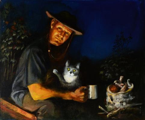 Неля Гурьева. Портрет сына