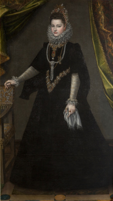 Sofonisba Angisola. Infanta Isabella Clara Eugene