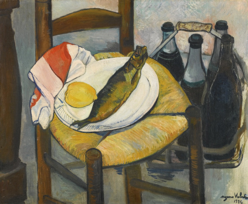 Suzanne Valadon. Still life with herring