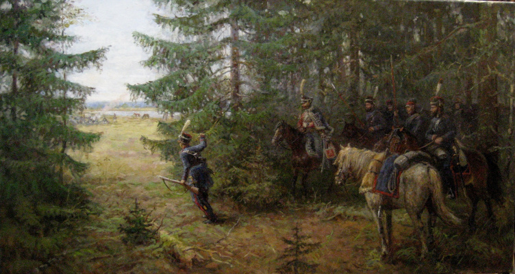 Aleksandr Chagadaev. Cossack intelligence