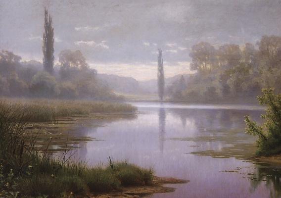 Efim Efimovich Volkov. Misty morning