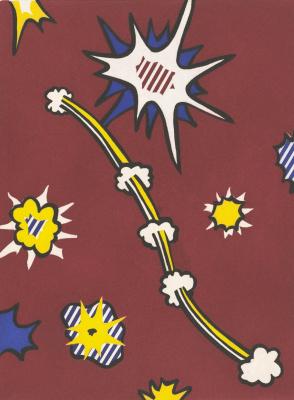 Roy Lichtenstein. New fall of America. Sheet 105
