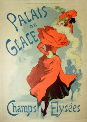 Jules Chere. The ice Palace. Champs Elysees