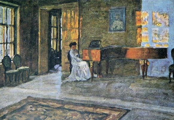 Stanislav Yulianovich Zhukovsky. Evening chord