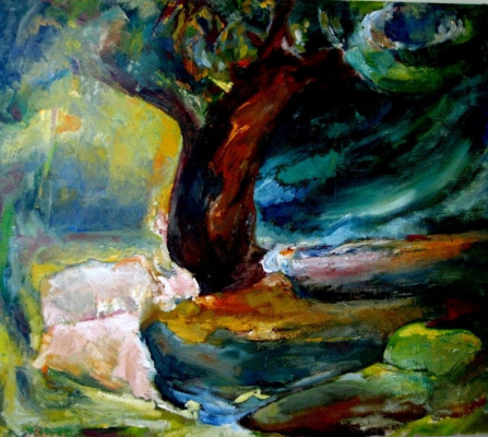 Александр Козлов. Старое дерево