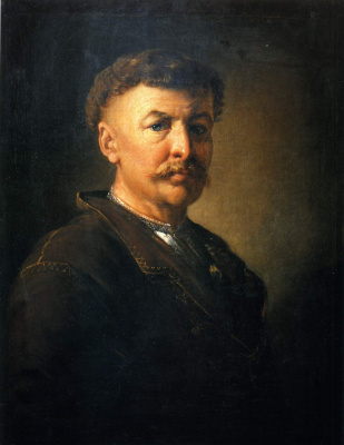 Vasily Andreevich Tropinin. Portrait of a Ukrainian peasant