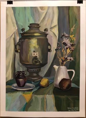 Daria Dmitrievna Polyakova. Still life