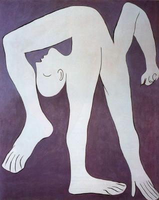 Pablo Picasso. Acrobat