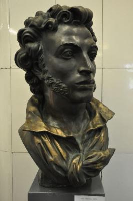 Алексей Андреевич Архипов. Пушкин, бронза