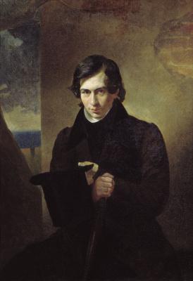 Karl Pavlovich Bryullov. A portrait of the writer Nestor Vasilievich Kukolnik