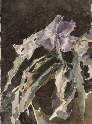 Mikhail Vrubel. Orchid. Etude