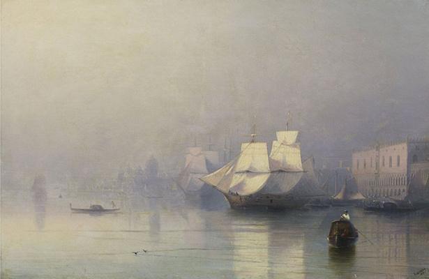 Утро в Венеции (Венеция в тумане)