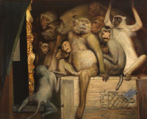 Обезьяны судят об искусстве