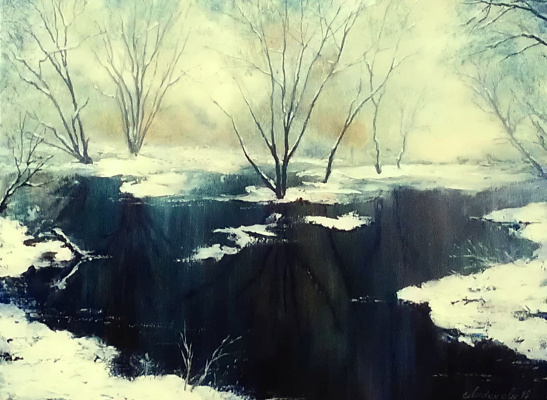 Lydia Lee. First snow fell