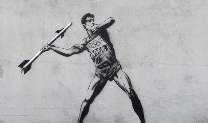 Banksy. Olympic Series 3